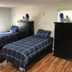 intake drug rehab bedroom detox room