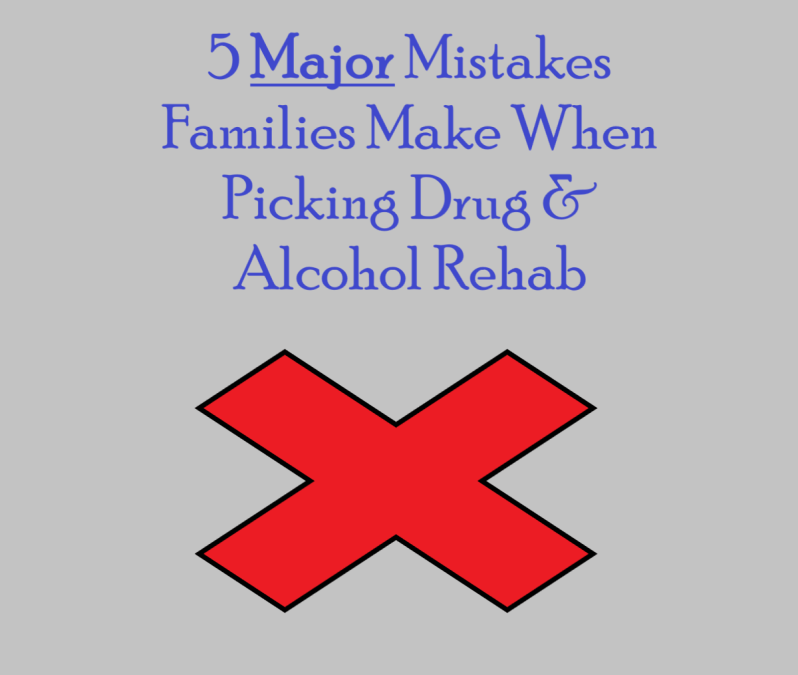 drug and alcohol rehab mistakes near me local chester county